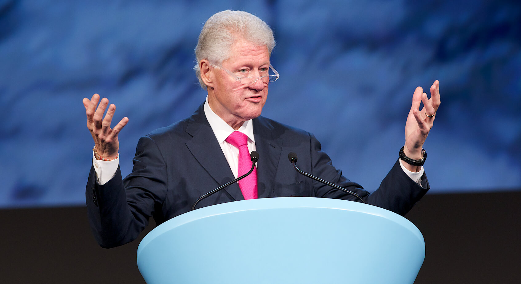 Creating the Eye on Earth Summit with Bill Clinton